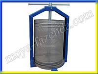 Пресс для сока (15 л, нержавеющая корзина, заводское качество)