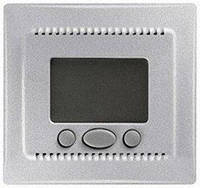 Термостат (терморегулятор) с функцией комфорт, алюминий, Sсhneider Electriс Sedna Шнайдер электрик Седна