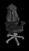 Кресло Imperial (Империал) экокожа черная (ТМ Kulik System)