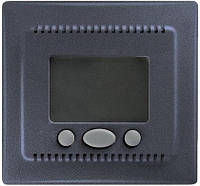 Термостат (терморегулятор) с функцией комфорт, графит, Sсhneider Electriс Sedna Шнайдер электрик Седна