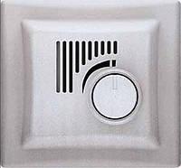 Термостат (терморегулятор) с функцией охлаждения, алюминий, Sсhneider Electriс Sedna Шнайдер электрик Седна