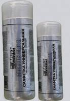 Салфетка универсальная искусственная замша ABRO CH-220 43x32см