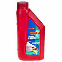 Антифриз  красный концентрат ABRO AF-561-H 1 кг.