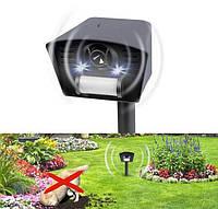 Универсальный отпугиватель животных и птиц LS-987 New с ИК-датчиком и световым стробом