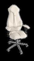 Кресло Imperial (Империал) экокожа белая,прошивка Fashion (ТМ Kulik System)