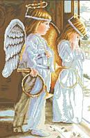 Набор алмазной вышивки Ангелы. Размер полотна 41х62см