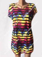 Стильное платье парео для девушек 1054