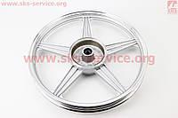 Диск колесный задний литой 18Х1,6 ZS-200, серый