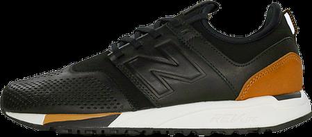"655b00a3ae96 Мужские кроссовки New Balance 247 ""Luxe"" Pack Black купить в ..."