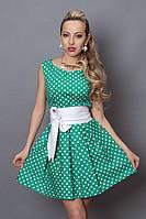 Красивое платье в горошек / Гарне плаття в горошок