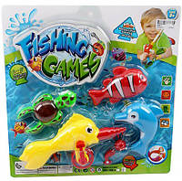 Игрушка рыбалка магнитная 388A-1