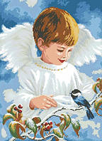Набор алмазной вышивки Ангельское пение. Размер холста 40х54см