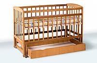 Кровать детская на шарнирах с выдвижным ящиком шухляда, фото 1