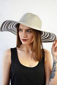 Шляпа Сицилия серая