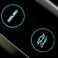 Вставки для подстаканников LED - Chevrolet Malibu (BRICX)