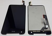 Оригинальный дисплей (модуль) + тачскрин (сенсор) для HTC Butterfly X920d (черный цвет, 137*68mm)