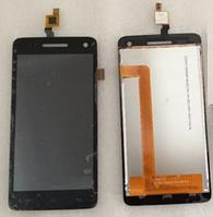 Оригинальный дисплей (модуль) + тачскрин (сенсор) для Explay Fresh (черный цвет)