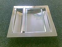 Лоток щелевой-стеклянная подвижная крышка