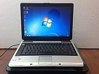 "Ноутбук Toshiba 14"" Intel Celeron 1.5Gb RAM 80Gb HDD M115 б/у б у"