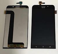 Оригинальный дисплей (модуль) + тачскрин (сенсор) для Asus Zenfone Max ZC550KL (черный цвет)