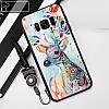 """Samsung G950F S8 противоударный чехол оригинальный бампер с 3D рельефным принтом рисунком """"SEMASA"""", фото 8"""
