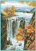 Схема для вышивки на канве Водопад КТК - 3095/1