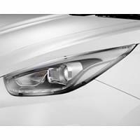 Протекторы передних фар (CLEAR) - Hyundai Tucson iX / ix35 (EGR)