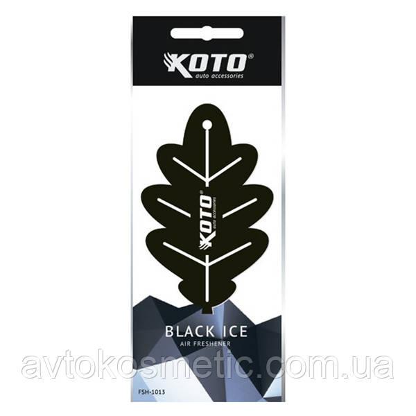 "Ароматизатор ""Дубовый лист"" (Black Ice)"