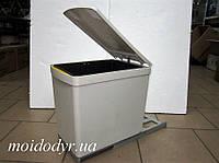 Ведро мусорное с одним контейнером на направляющих, фото 1