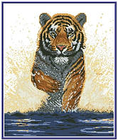 Схема для вышивки на канве Тигр КТК - 3092/1