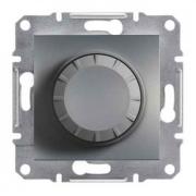 Светорегулятор (диммер) 600 ВА проходной, сталь, Sсhneider Asfora Шнайдер Асфора