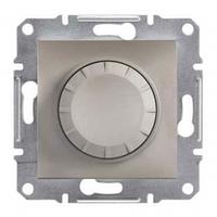 Светорегулятор (диммер) 600 ВА проходной, бронза, Sсhneider Asfora Шнайдер Асфора