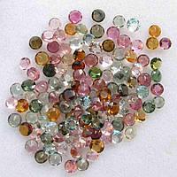 11.90 карат Природный необработанный турмалин ~ 2.5-3 мм