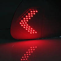 Асферические зеркала с LED повторителями и подогревом - Hyundai Tucson (KABIS)
