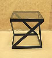 Стол кованый 14 Стекло., фото 1