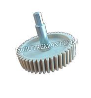 Шестерня мясорубки Saturn  ST-FP 1098 Ø81/h73 косые зубы (не оригинал)