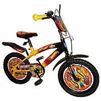 Детский велосипед Mustang Hotwheels 20 дюймов (от 8-ми до 12-ти лет) - без дополнительных боковых колес