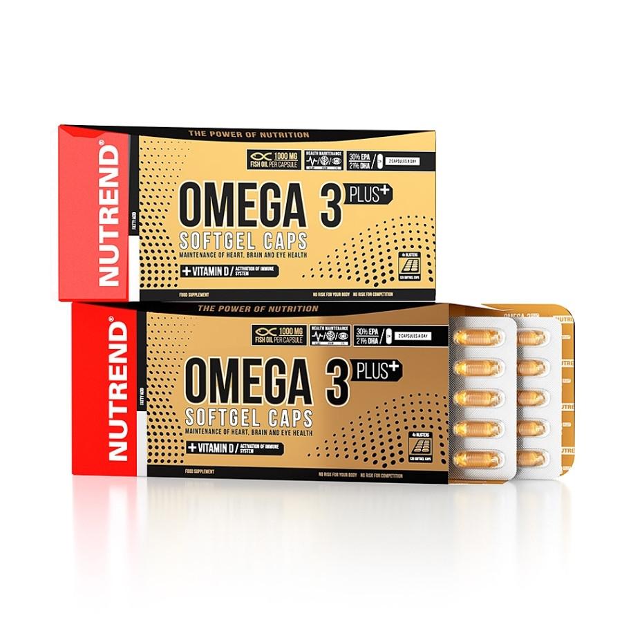 Nutrend Omega 3 Plus Softgel 120 caps
