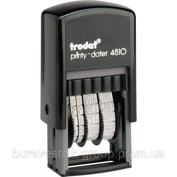 Мини-датер Trodat Printy (4810)