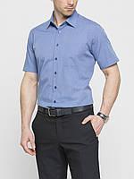 Мужская рубашка LC Waikiki с коротким рукавом небесного цвета, фото 1