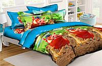 Детское постельное бельё Тимон и Пумба 150*220 хлопок (6437) TM KRISPOL Украина