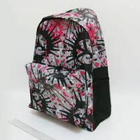 Рюкзак с карманом JO Воображение серый 42x30x13 см 0615-B-1