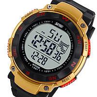 Кварцевые спортивные часы Skmei (gold)