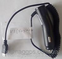 Автомобильная зарядка V3 (5v500mA) GPS car charger