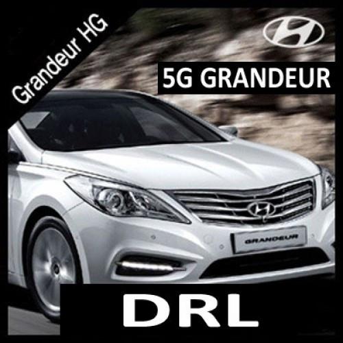 Дневные ходовые огни Power LED (DRL) - Hyundai Grandeur HG / Azerra (MOTORSPY)