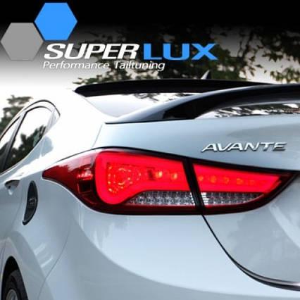 Задні ліхтарі LED Premium Ver.2 - Hyundai Avante MD (SUPER LUX), фото 2
