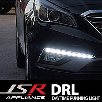 Дневные ходовые огни LED (DRL) - Hyundai LF Sonata (JSR), фото 2