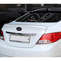 Задний спойлер на багажник - Hyundai New Accent (MORRIS)