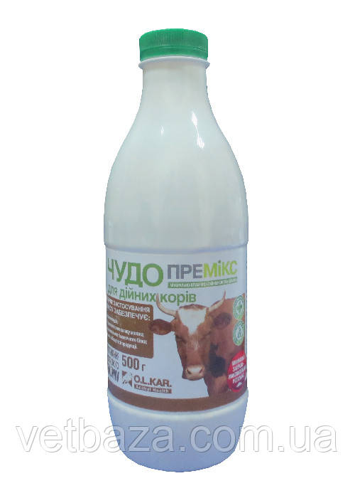 "Премикс ""Чудо"" 1% коровы 500г (бутылка) O.L.KAR.*"
