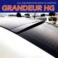 Задний спойлер на стекло (УРЕТАН) - Hyundai 5G Grandeur HG / Azera (MIJOOCAR)
